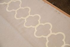 DIY Stencil with Contact Paper and Silhouette.  Can the Cricut cut contact paper?