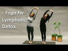 Yoga for the Lymphatic System Detox gives you a series of poses to clear the lymphatic system of toxins, boost the immune system and reduce inflammation in t. Liver Detox Drink, Liver Detox Cleanse, Detox Drinks, Detox Lymphatic System, Digestive Detox, Lymphatic Drainage Massage, Beginner Yoga, Advanced Yoga, Restorative Yoga