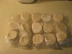DIY Pillsbury Freezer Biscuits