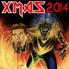 """U.K. IRON MAIDEN Fans Rallying to Make """"Number of the Beast"""" The #1 Song This Christmas"""