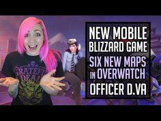 New MOBILE Blizzard Game?! Officer D.Va, New Overwatch Maps & More! | Bl...