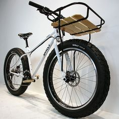 Surly pugsley above fat bike custom