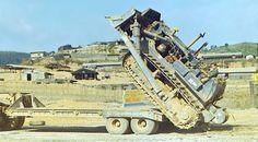 Caterpillar bulldozer in Vietnam war