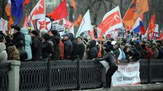 عشرات المظاهرات احتجاجا على النظام الروسي والسلطات تعتقل 30 محتجا