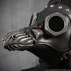 Máscara de gas steampunk en venta Máscara de médico de la peste steampunk hecha…