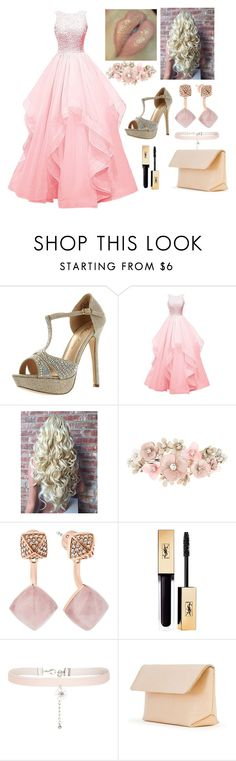 """""""Sleeping Beauty Prom"""" by jordanloveofficial ❤ liked on Polyvore featuring De Blossom, Accessorize, Michael Kors, New Look and Iala Díez"""