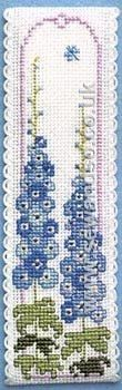 Delphiniums Bookmark