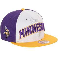 New Era Minnesota Vikings 9Fifty 2012 NFL Draft Snapback Hat - Purple-White Minnesota  Vikings b64c2a3abfb73
