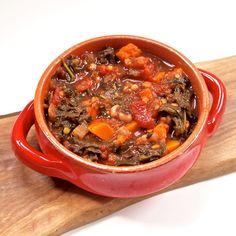 Sweet Potato Lentil Chili [vegan + gluten-free] • Healthy HelperBloglovinFacebookGoogle+InstagramPinterestTumblrTwitter