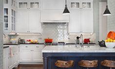 Kitchen Glass Tile Backsplash Design Ideas, Pictures, Remodel, and Decor - page 4