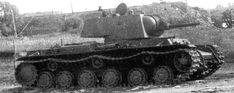 Heavy tank KV-1 with L-11 gun 76,2 mm / Czołg ciężki KW-1 uzbrojony w działo Ł-11
