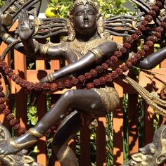 South Indian Famous Deity Of Lord Nataraja The Ultimate Dancer And Worshiped With Garlands