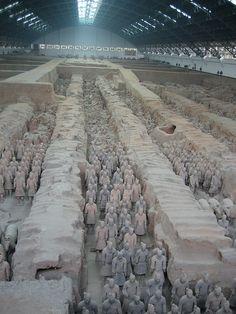 Terracotta army, Xian china