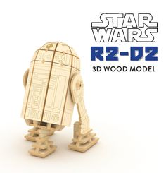 Make your very own version of the famous R2 unit companion of Luke Skywalker and counterpart to C-3P0. Paint R2-D2 in familiar colors or use any colors you like! The kit also comes with a bonus R2-D2 booklet. A great gift idea for Star Wars fans!