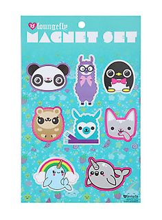 <p>Super cute and even more fun is this magnet set. Post animals like an alpaca or narwhal on your fridge.</p>  <p>Yeah, we think it's cool too. </p>  <ul> 	<li>Imported</li> </ul>