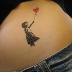 Banksy Temporary Tattoos