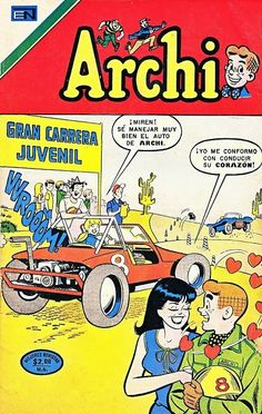 ARCHI - AÑO XVIII - Nº560 Archie Comics Characters, Disney Cartoon Characters, Disney Cartoons, Vintage Comic Books, Vintage Comics, Book Cover Art, Comic Book Covers, Caricature, Archie Comics Riverdale