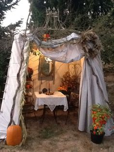 My first sukkah for Sukkot - The Feast of Tabernacles! 5773