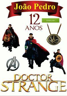 Topo de bolo Dr. Estranho Avenger Party, Party Printables, Avengers, Scrap, Clip Art, Movie Posters, Diy, Dr Strange, Doctor Strange
