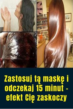Zastosuj tą maskę i odczekaj 15 minut – efekt Cię zaskoczy – Frauen Haar Modelle Natural Cosmetics, Facon, Hair Loss, Good To Know, Hair Beauty, Long Hair Styles, Tips, Wax, Great Hair