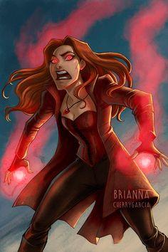 Scarlet Witch by briannacherrygarcia on DeviantArt