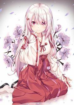 🌸 Priest of the Order of Cherry blossoms 🌸 Fille Anime Cool, Cool Anime Girl, Pretty Anime Girl, Girls Anime, Beautiful Anime Girl, Kawaii Anime Girl, Anime Art Girl, Manga Girl, Anime W