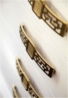 gold drawer pulls