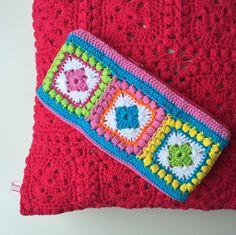Bobble square haaketui en kussen Marrose-Colorful Crochet & Crafts #haken
