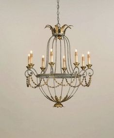 Currey and Company 8 Light Elegance Chandelier 9948 - Chandelier Lighting - Traditional Lights Bathroom Chandelier, Chandelier Lighting Fixtures, Gold Chandelier, Chandelier Ceiling Lights, Light Fixtures, House Lighting, Elegant Home Decor, Elegant Homes, French Country Lighting