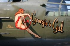 "B-25 Mitchell - ""Georgie's Girl""."