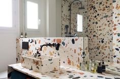 Italians and style go together like Romeo and Juliet. (But without that messy ending.) So it's no surprise that the Terrazzo trend originates there. Quarry workers developed the technique from around 500 years ago, setting marble, granite or even glass … Continue reading →
