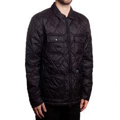 Huf Quilted Work Jacket - Black