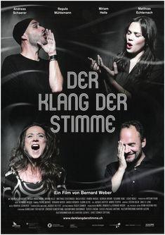 DER KLANG DER STIMME - 2018 - ORIG. FILMPOSTER A4 BERNARD WEBER