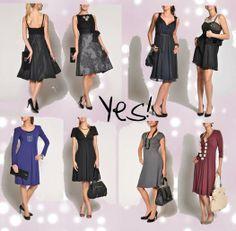dresses for Pear figure