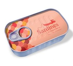 Not a sardine lover but this packaging rocks.