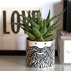 Buy Hubert Planter from our Vases & Planters range at Red Candy, home of quirky decor. Diy Quirky Gifts, Quirky Decor, Ceramic Planters, Planter Pots, Pineapple Vase, Copper And Grey, Colored Vases, Ceramics Projects, Craft Projects