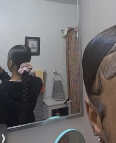 Hair Ponytail Styles, Weave Ponytail Hairstyles, Black Girl Braided Hairstyles, Sleek Ponytail, Baddie Hairstyles, Curly Hair Styles, Natural Hair Styles, Hair Inspo, Hair Inspiration