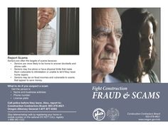 Fight construction fraud & scams, by the Oregon Construction Contractors Board