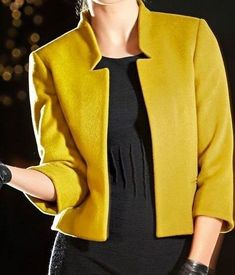 Sewing - Make Your Own Clothes Blazer Pattern, Jacket Pattern, Make Your Own Clothes, Blazer Fashion, Work Attire, Jacket Style, Blazer Jacket, Jackets For Women, Fashion Dresses