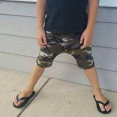 011caff310 Army Harem Shorts, Boy Short, Toddler Harem Shorts, Army Shorts,Baby Gift
