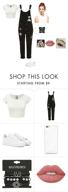Untitled #211 by sing-into-life on Polyvore featuring Topshop, adidas and Lime Crime