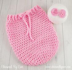 Free Crochet Pattern: Newborn Swaddle Sack
