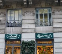 ANAIS flowers &c. Via Malpighi 1 Milano Tel. 02 201543