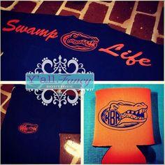 "Florida Gators ""Swamp Life"" Comfort Colors Short Sleeve Monogrammed Comfy Tee (Tee Only)"