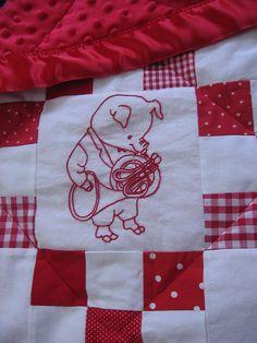 ADORABLE richard scarry quilt