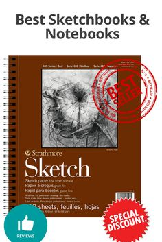 Best Sketchbooks & Notebooks - Discount and review Best Sketchbook, Sketch Paper, Sketchbooks, Notebooks, Surface, Sketches, Sketch, Sketch Books, Notebook