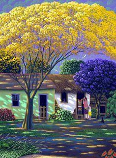 Painting the Carranca by Edivaldo Barbosa de Souza