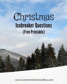 Good icebreaker questions online dating