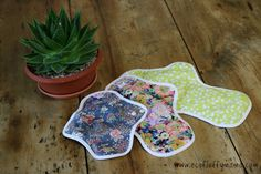Hannahpad Organic Cotton Cloth Pad For Eco Friendly Period
