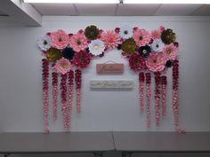 Wedding backdrop paper flowers DIY backdrop bride paper flower wall